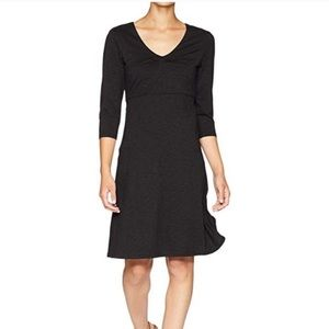 Horny Toad Charcoal Jersey Rosalinda Dress